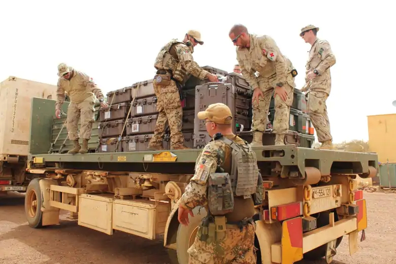On Monday, 44 more Canadian soldiers arrived in Gao