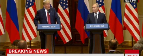 Donald Trump Putin James Alexander Michie
