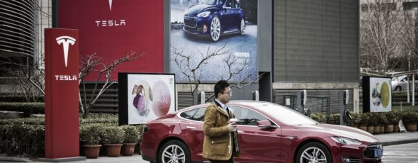 Tesla China James Alexander Michie