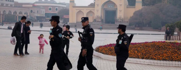 The Chinese government is using AI-powered facial recognition systems to monitor and target members of the Uighurs CBC News James Alexander Michie