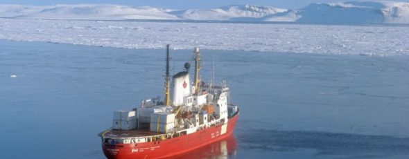 Canadian Ice Breaker CCGS Amudsen James Alexander Michie