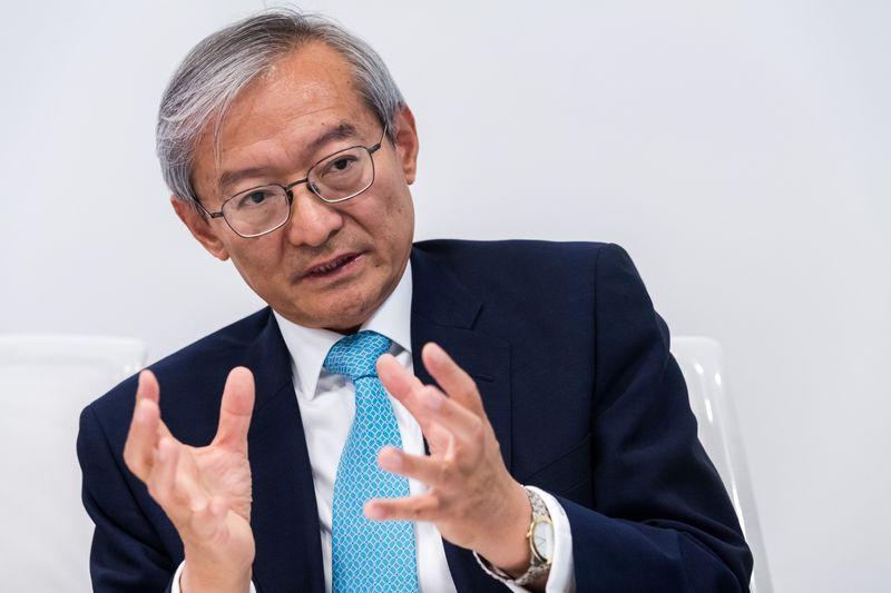 Zhang Ming Bloomberg James Alexander Michie