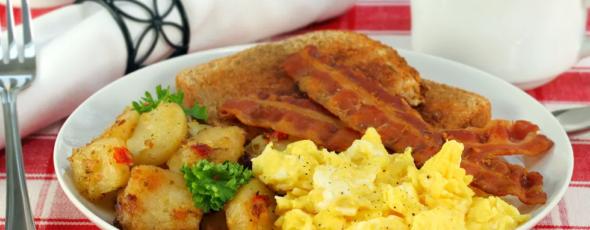 Breakfast The Blaze | James Alexander Michie