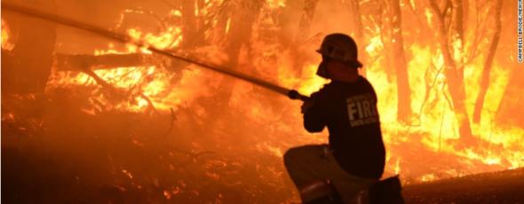Aboriginal Australia Fire Trend CNN | James Alexander Michie