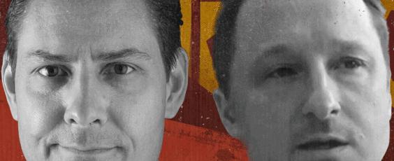 Canadians Michael Kovrig and Michael Spavor National Post | James Alexander Michie