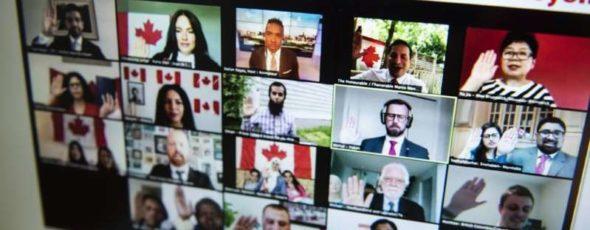 Justin Tang Immigration Minister Marco Mendicino Microsoft News | James Alexander Michie