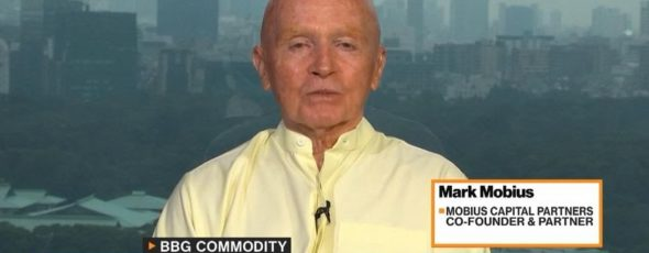Mark Mobius, co-founder and partner at Mobius Capital Partners | James Alexander Michie